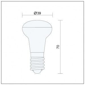 Wandlampe LED 9W, IP20, MIR-4-3