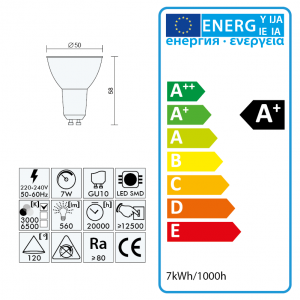 Wandleuchte LED 12W, AMY